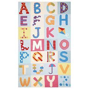 nuLOOM Uzbek Plus Alphabet Boxes Rug