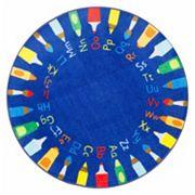 nuLOOM Giza Rainbow Alphabet Rug