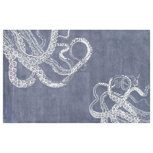 nuLOOM Kyoto Octopus Tail Wool Blend Rug