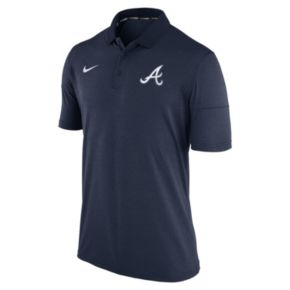Men's Nike Atlanta Braves Heathered Dri-FIT Polo