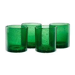 Artland Iris 4 pc Double Old-Fashioned Glass Set