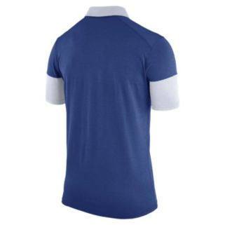 Men's Nike Los Angeles Dodgers Heathered Dri-FIT Polo