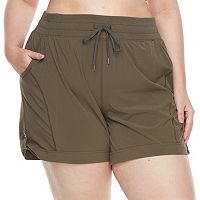 Plus size Tek Gear® Button-Tab Active Shorts