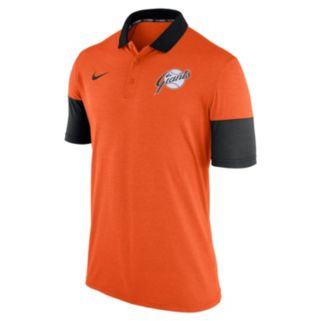 Men's Nike San Francisco Giants Heathered Dri-FIT Polo