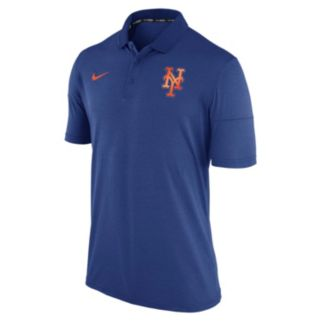 Men's Nike New York Mets Heathered Dri-FIT Polo