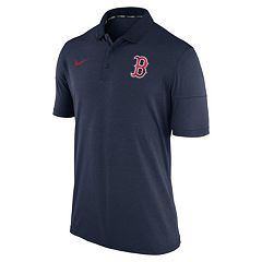 Men's Nike Boston Red Sox Heathered Dri-FIT Polo