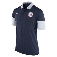 Men's Nike New York Yankees Heathered Dri-FIT Polo
