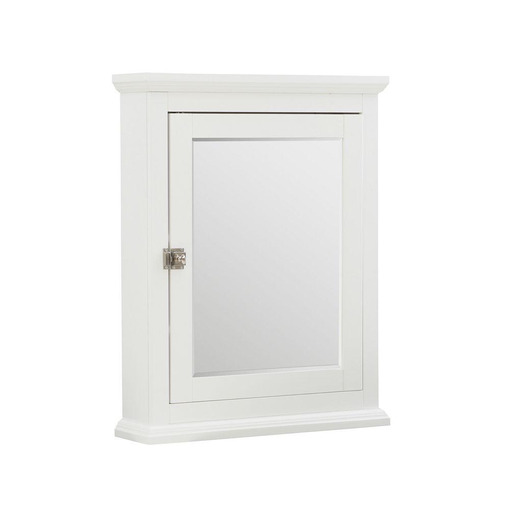 Linon Scarsdale Mirror Wall Cabinet