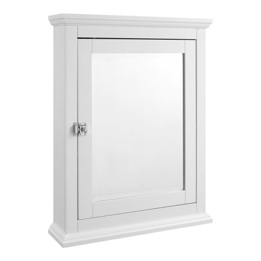 Linon Scarsdale Mirror Wall Cabinet