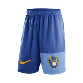 Men's Nike Milwaukee Brewers Fly Dri-FIT Shorts