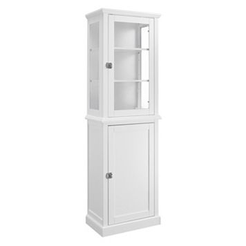Linon Scarsdale Tall 2-Door Storage Cabinet