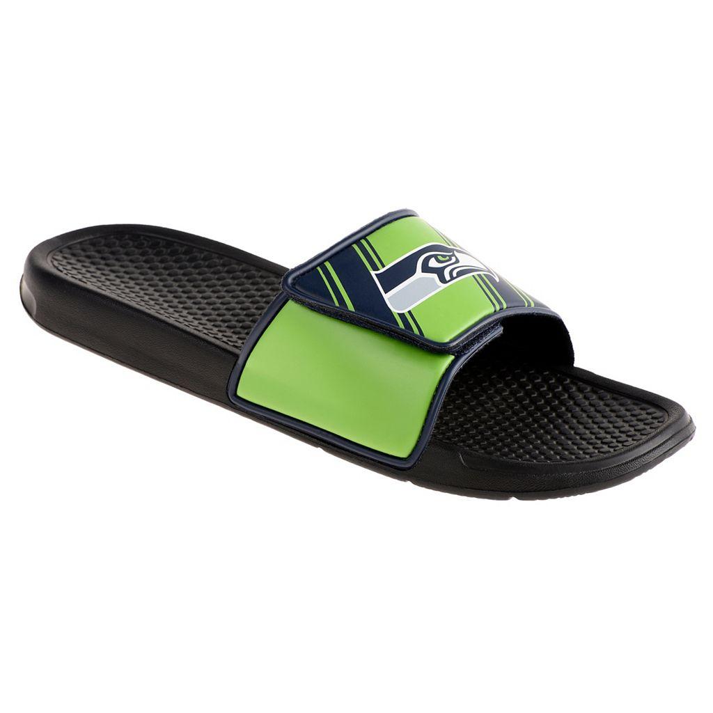 Youth Seattle Seahawks Legacy Sport Slide Sandals