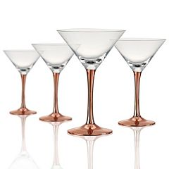 Artland Coppertino 4-pc. Martini Glass Set