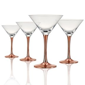 Artland Coppertino 4-pc. Martini Glass Set