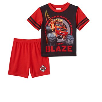 Toddler Boy Blaze and the Monster Machines 3-pc. Pajama Set