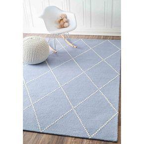 nuLOOM Varanas Elvia Lattice Wool Rug