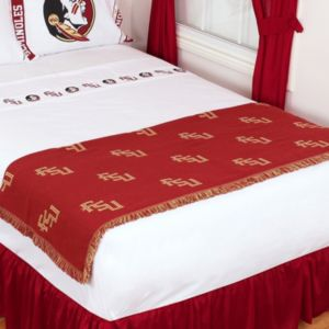 Sports Coverage Florida State Seminoles Bed Runner