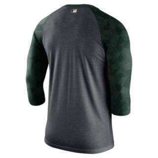 Men's Nike Oakland Athletics AC Dri-FIT Raglan Tee
