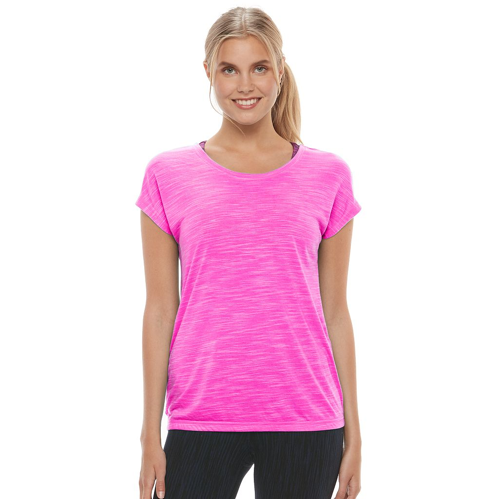 Women's Tek Gear® Short Sleeve Cross Back Tee