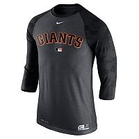 Men's Nike San Francisco Giants AC Dri-FIT Raglan Tee