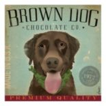 """Brown Dog Chocolate"" Canvas Wall Art"