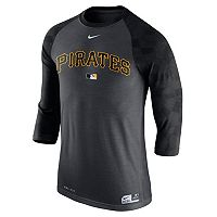 Men's Nike Pittsburgh Pirates AC Dri-FIT Raglan Tee