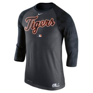Men's Nike Detroit Tigers AC Dri-FIT Raglan Tee