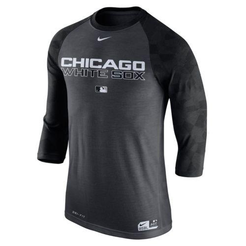 Men's Nike Chicago White Sox AC Dri-FIT Raglan Tee