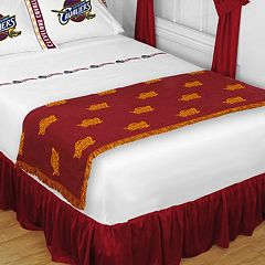 Sports Coverage Cleveland Cavaliers Bed Runner