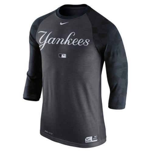 Men's Nike New York Yankees AC Dri-FIT Raglan Tee