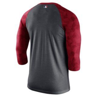Men's Nike St. Louis Cardinals AC Dri-FIT Raglan Tee