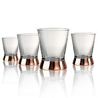 Artland Coppertino 4-pc. Double Old-Fashioned Glass Set