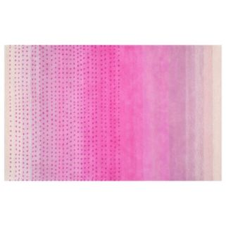 nuLOOM Luminous Blush Abstract Wool Rug
