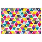 nuLOOM Carnival Maris Triangles Geometric Rug