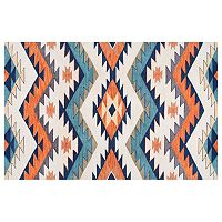 nuLOOM Arikara Tribal Rhona Geometric Rug