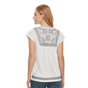 Women's SONOMA Goods for Life? Embroidered Dolman Tee