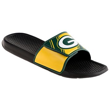 Men's Green Bay Packers Legacy Sport Slide Sandals