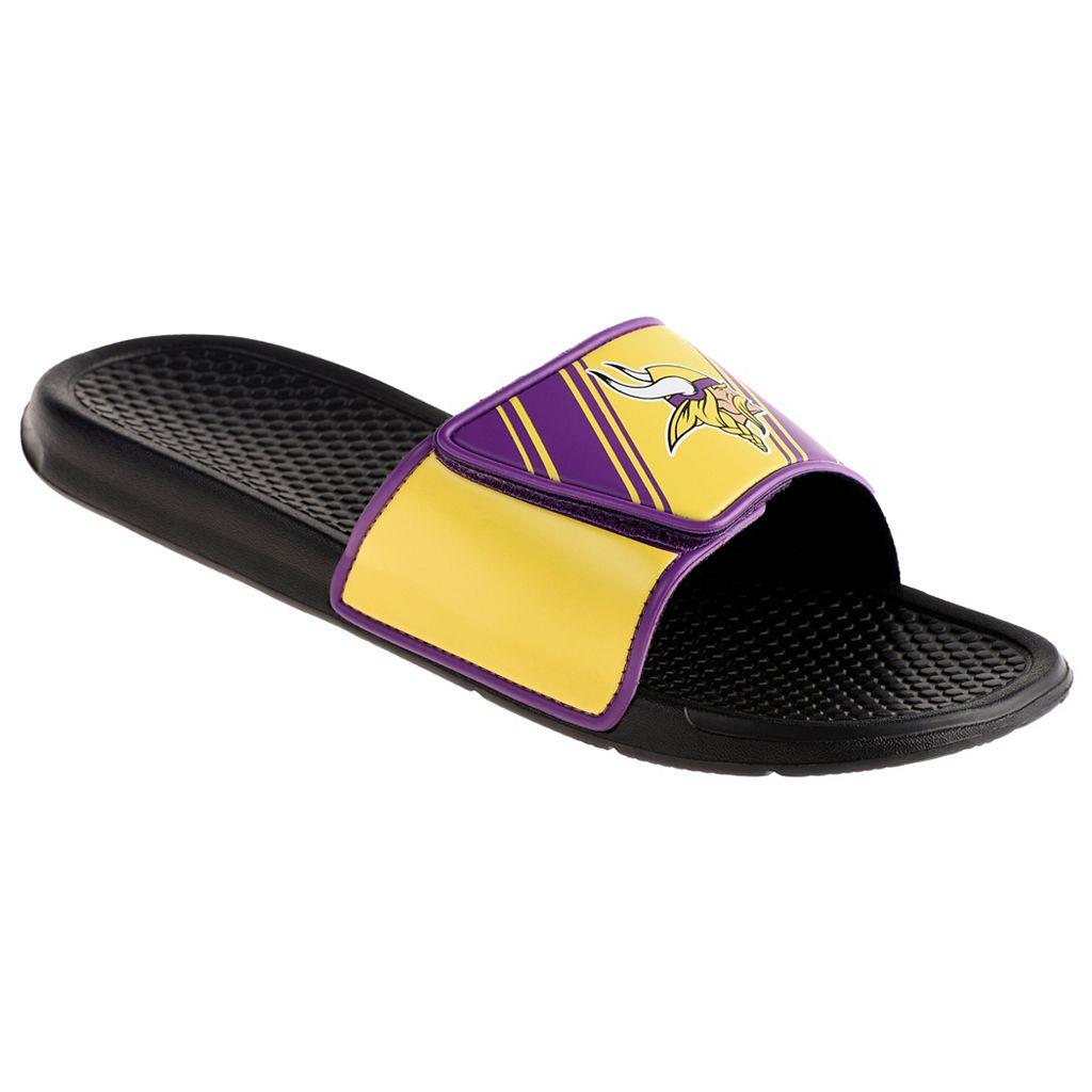 Men's Minnesota Vikings Legacy Sport Slide Sandals
