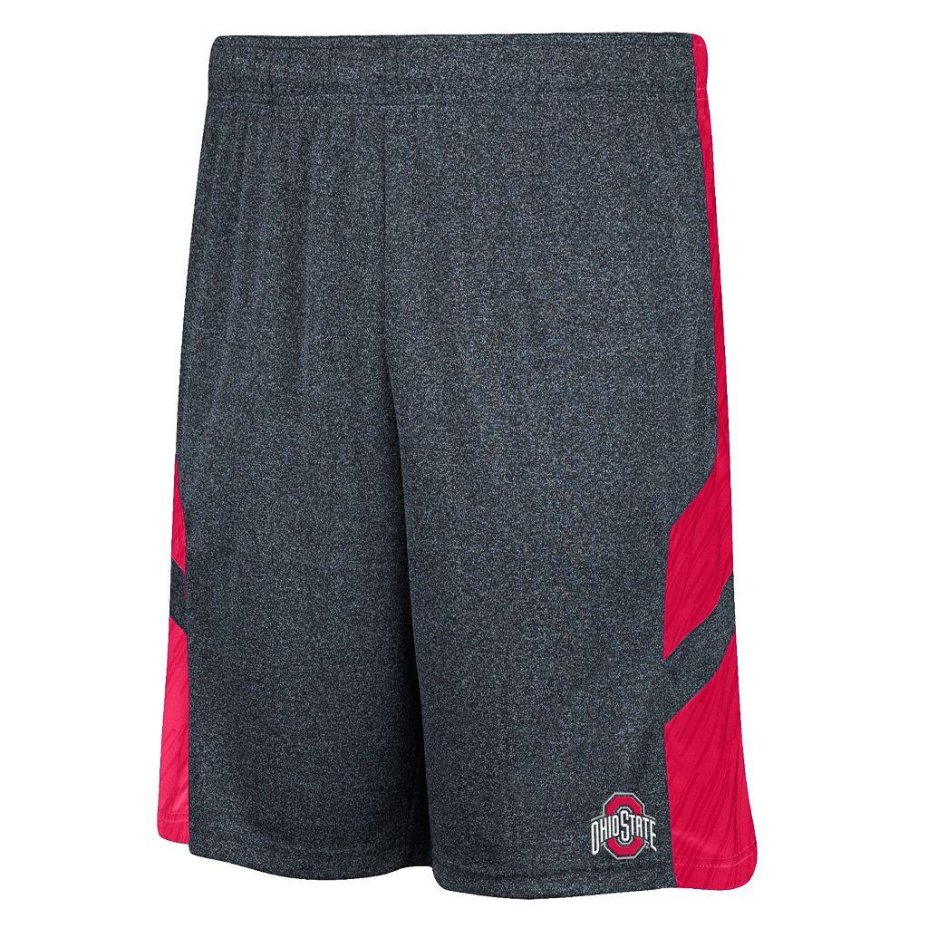Men's Ohio State Buckeyes Trident Shorts