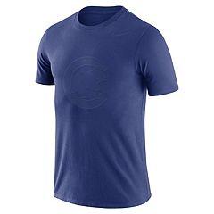 Men's Nike Chicago Cubs Logo Ringspun Tee