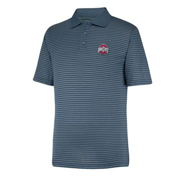 Men's Ohio State Buckeyes Linebacker Striped Polo