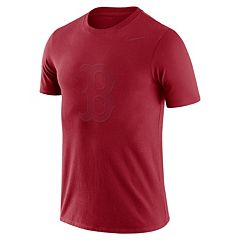 Men's Nike Boston Red Sox Logo Ringspun Tee