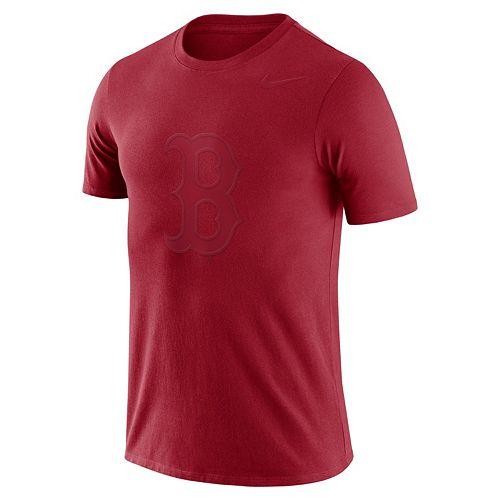 Men's Nike Boston Red Sox Logo Ringspun Tee
