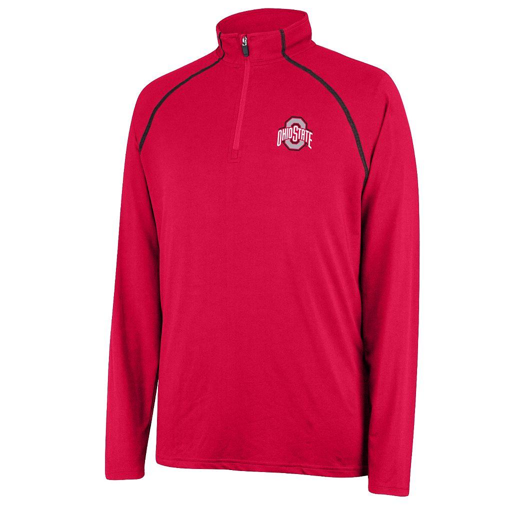 Men's Ohio State Buckeyes Next Level Quarter-Zip Pullover