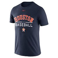 Men's Nike Houston Astros Away Practice Ringspun Tee