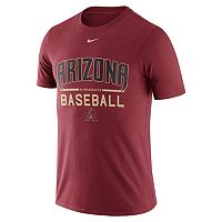 Men's Nike Arizona Diamondbacks Away Practice Ringspun Tee