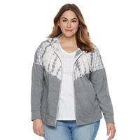Plus Size SONOMA Goods for Life™ Tie-Dye Hoodie