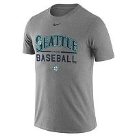 Men's Nike Seattle Mariners Away Practice Ringspun Tee