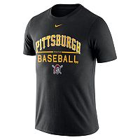 Men's Nike Pittsburgh Pirates Away Practice Ringspun Tee