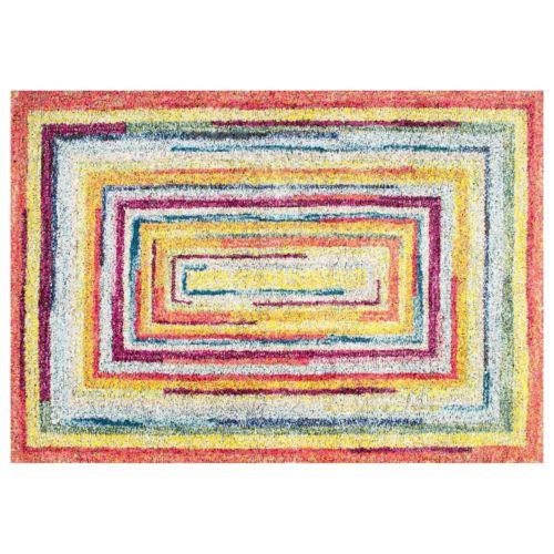 nuLOOM Carnival Hargis Labyrinth Striped Rug